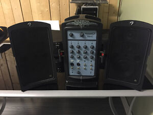 Fender passport conference 150 portable PA system
