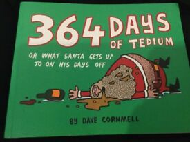 Book 364 Days Of Tedium By Dave Carmelo, New With Tags