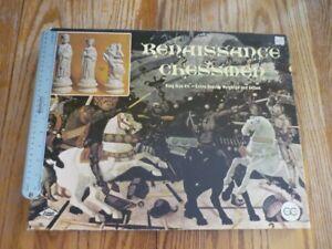 Renaissance Chessmen Board Game