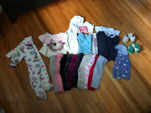 Toddler girl clothing lot (6-12 months)