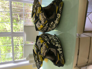 Motor cross helmets
