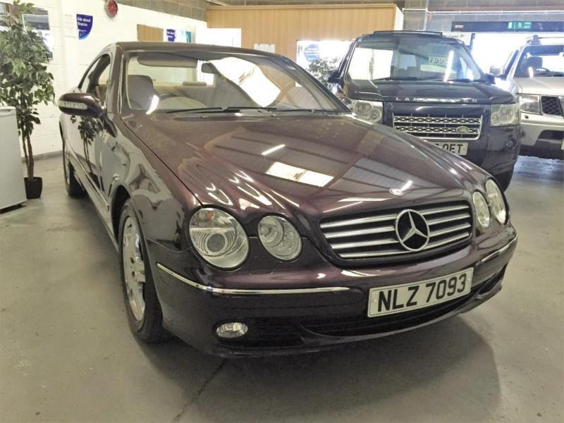 2004 mercedes cl500 immaculate car low mileage in. Black Bedroom Furniture Sets. Home Design Ideas