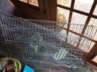 Rabbit / guinea pig run (roof enclosed)