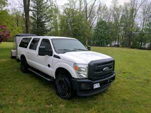 2005 Ford Excursion with 2016 Front Conversion and Fresh Paint!