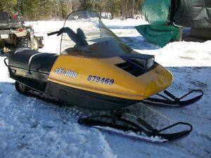 Ready to ride  Skidoo