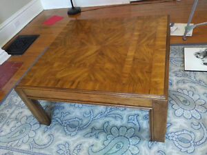 coffee table and end table (Solid wood)