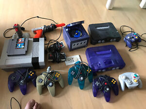 Nintendo system , 64 and game cube