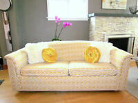 Sofabed  newly upholstered to sell.