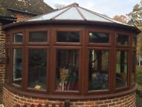 Large brown wooden conservatory FREE