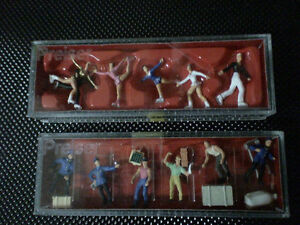 minature 1/87th scale people,, new in cases Belleville Belleville Area image 1