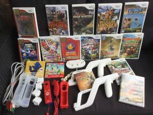 Mario Galaxy, Wario Land, Link Crossbow, Zapper etc..
