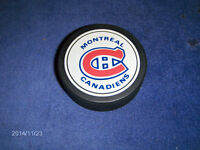 UNIQUE & COLLECTIBLE MONTREAL CANADIENS HOCKEY PUCK-NHL