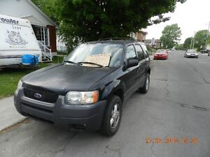 2003 Ford Escape Fourgonnette, fourgon