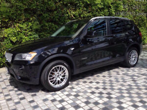 2013 BMW X3 2.8i xDrive, BMW Winter Tires and Rims included