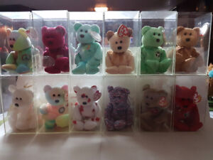 Various TY Beanie Baby and Pushies/Stuffed Animals
