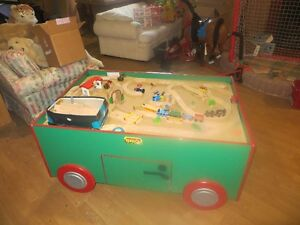 BRIO Play Table and Accs.