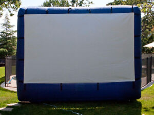 Air Blown Inflatable Movie Screen 148""