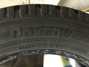 Winter Tires- used 1 season