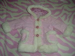 3T Girls --- Faux-fur trimed winter Hoodie Jacket (Brand NEW)