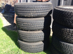 Set of four, 14 inch tires in great shape. $80 for set.