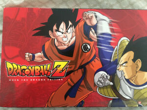 Dragonball Z DVD rock the dragon edition anime