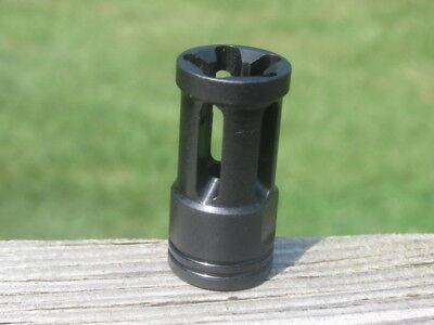 New Tactical Ruger 1 2 X 28 Multi Port Muzzle Break Compensator 223 22 Lr 10 22