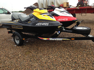 Supercharged RXT 215 Seadoo's
