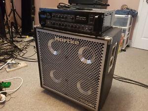 Ampeg SVT-5 Pro Bass Head, Hartke Hydrive 410 Bass Cab London Ontario image 1
