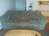 Couch, love seat and ottoman