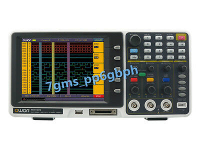 F0r Owon Mso7102t Mixed Logic Analyzer Oscilloscope 100mhz 1gss 500mss 7.8