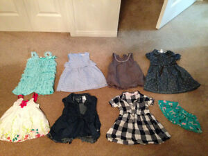 Baby girl dresses $20 for all or $5 each
