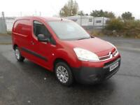 CITREN BERLINGO LX L850 DIESEL VAN MANUAL 5 DOOR SAT NAV 56000 MILES NO VAT.....