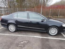 Volkswagen Passat 2.0TDI CR Highline DIESEL BLACK SAT NAV LEATHER BLUETOOTH FSH