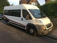 Citroen RELAY 40 HDI 160 XLWB (2007) 3.0 HDI 17 seater