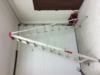 10ft aluminum step ladder