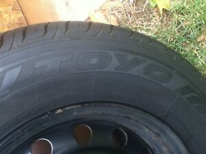 4 summer tires on rims. Oakville / Halton Region Toronto (GTA) image 2