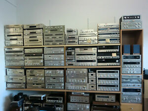 VINTAGE STEREO SELL OFF SALE: