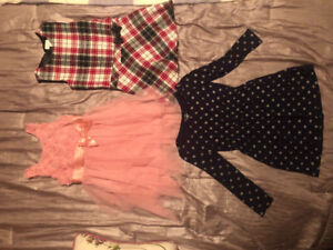 Toddler Girl Sz 4T Fall/Winter Clothes-Jackets-Boots