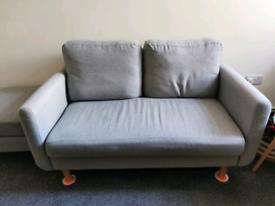 Grey 2 seater