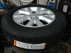 235 65 18 Continental tires on Nissan Murano alloy rims / TPMS