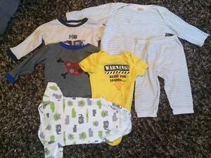 12  pieces 12-18 boys clothes