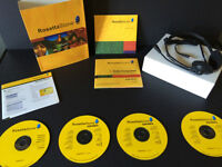 Rosetta Stone Spanish learning system with headset, brand new