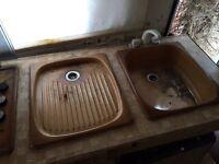 Sink & drainer