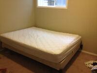 Queen size mattress & box