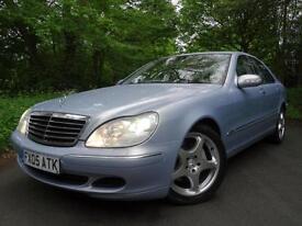 2005 (05) Mercedes-Benz S320 3.2TD (204 bhp) auto S320 CDi...VERY HIGH SPEC!!