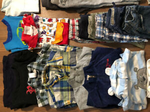 2t boys' clothes a lot