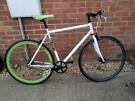 Fixie bike single speed