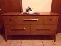 vintage hallway table/dresser/credenza -- OVERSIZE