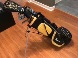 Barely used Nike Match Jr. Golf Clubs