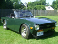 1969 Triumph TR6 (original OD Car)